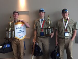 Skills USA State Champion Winner 2019